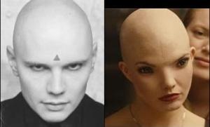 Billy Corgan e Dren